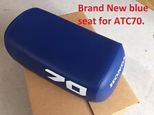 Brand New dark blue seat for Honda ATC70 ATC 70 1978-1985 with  #70 on sides