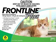 Frontline Plus For Cats & Kittens - Green 6 Pack - Merial