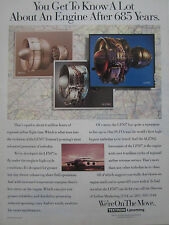 1992 PUB TEXTRON LYCOMING LF507 TURBOFAN ALF502 PLF1A AIRLINER ORIGINAL AD