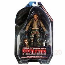 "Neca Predator Series 8 Jungle Extraction Dutch 7"" Action Figure New In Box"