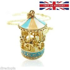 Carousel Horse Merry Go Round Carnival Pendant Necklace FREE UK DELIVERY