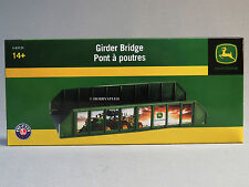 LIONEL JOHN DEERE GIRDER TRAIN TRACK BRIDGE o gauge metal base 6-83234 NEW