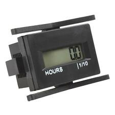 Motorcycle Car Tractor Marine DC4.5V-60V Waterproof 0-999999 Hours Hour Meter