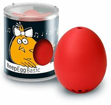 BrainStream BeepEgg Musical / Singing Floating Egg Timer - Red