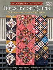 19th-Century Patchwork Divas' Treasury of Quilts book by Chutchian &  Staehle