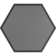 "Ultimate Acoustics UA-HX-24GR Hex Series Hexagon Foam Wall Panel 24"" Charcoal"