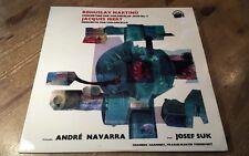 LP * Supraphon SUA ST 50877 Martinu Ibert Cello Concertos Andre Navarra  RED 1ED