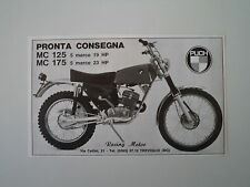 advertising Pubblicità 1972 MOTO PUCH MC 125/175