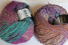 "Noro ""SHIRO"" Luxury Yarn, #9  Green, Purple, Rust"