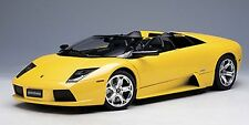 AUTOART LAMBORGHINI MURCIELAGO ROADSTER METALLIC YELLOW 1:12*Back in Stock*RARE!