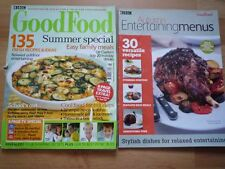 BBC GOOD FOOD AUG 2005 135 recipes feta green salad roast lamb BBQ chicken bacon