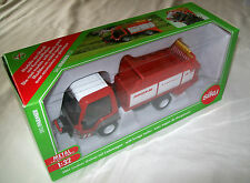 SIKU FARMER 1:32 Scale 3061 LINDNER UNITRAC with FORAGE TRAILER Metal/Plastic