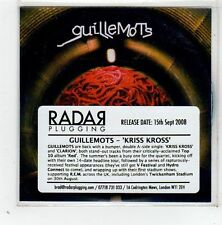 (GD655) Guillemots, Kriss Kross - 2008 DJ CD