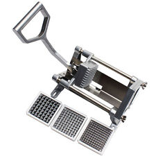 New kitchen Potato Chips Cutter Pusher Slicers French Fry Maker Carrot Chipper