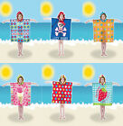 Kids Hooded Beach Bath Poncho Pal Beach Accessories Brand New Gift