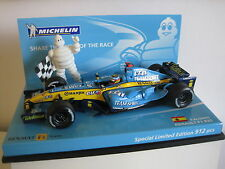 BRAND NEW MINICHAMPS 1/43 ALONSO 2005 RENAULT R25 LIMITED 912 AND WORLD CHAMPION