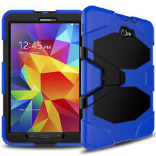 For Samsung Galaxy TabA 2016 (10.1) Heavy Duty Shock Proof Case/Screen Protector