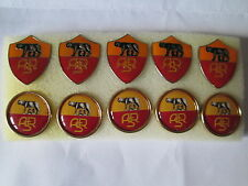 lotto 10 pins lot AS ROMA FC club spilla football calcio broches patas spille