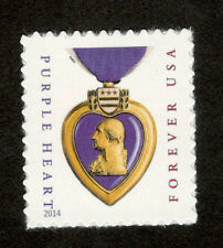 5035 Purple Heart Microprinted Single Mint/nh (Free shipping offer)