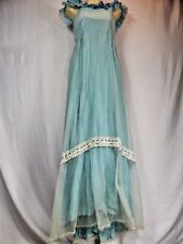 Vintage 1950 Halloween Retro Masquerade Costume Grecian Greek Godess Empire Gown