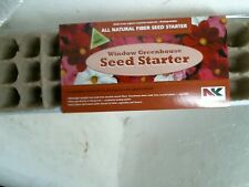 Plantation Products 36-Cell Window Sill Greenhouse Seed Starter Tray P35HFB