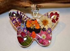 Butterfly Pendant Mexico .925 Sterling Silver Pressed Real Fair Trade Gift New