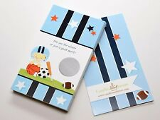 Sports Baby Asian - Baby Shower Scratch Off Game Pack