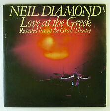 "2x12"" LP - Neil Diamond - Love At The Greek - Recorded Live At - k5298"
