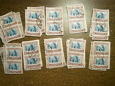Wholesale Lot of 100 Used Jordan # 316 Aqsa Mosque 1954 50 Pairs - Free Ship