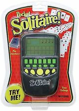 Solitaire Hand Held Handheld Electronic Arcade Travel Game Kids Games Screen Toy