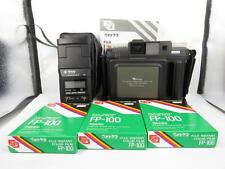Fuji Fotorama FP-1 Professional Camera & National PE-320S Flash & 3x Color film