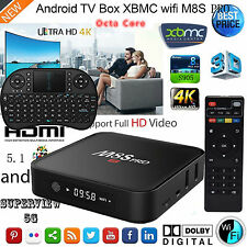 M8S Pro S905 Smart TV BOX Android 5.1 Octa Core KODI 16.0 Media Player+ Keyboard