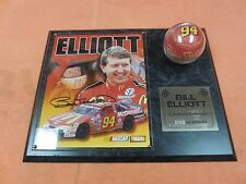 Hamilton Collection Bill Elliott One of A Kind,Personally Autographed Plaque