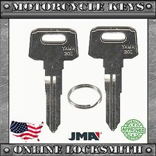 2 NEW BLANK KEYS FOR YAMAHA & SUZUKI MOTORCYCLES CODES: E32010-E79897 - YH50