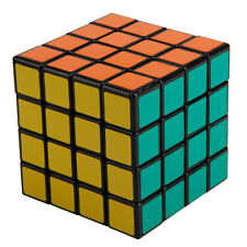 Shengshou Black 4x4x4 Magic Cube Square Puzzle Competition Speed Educational Toy