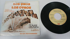 "LOS UNOS Y LOS OTROS SOUNDTRACK FRANCIS LAI SINGLE 7"" VINYL SPANISH EDITION RARE"