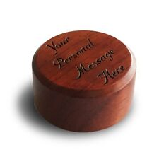 Custom Personalized Gift Genuine Rosewood Novelty Wine Stopper with Cork GIFT