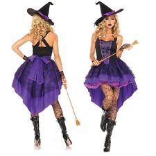 Sexy Women Witch Cosplay Costume Ladies Adult Fancy Dress Halloween Costume L
