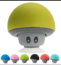 Wireless Bluetooth Speaker Portable Mini Speakers Mushroom Waterproof Bass