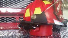 Black Firefighter/Firemen Helmet Light  (Black Bracket/ Black Flashlight) LED