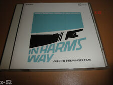 IN HARM'S WAY rare JERRY GOLDSMITH soundtrack CD japanese OST