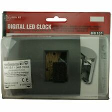Velleman Digital LED Clock Electronic Project Kit MK151