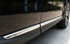 ABS Chrome Side Door Body Molding Moulding Trim For Subaru Forester 2013 2014