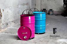 Mülltonne aus 60 l Neu Fass Abfalleimer Mülleimer Tonne Eimer Farbe nach Wahl