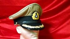 German Navy Senior Officer Tropical Crusher Hat - GERMAN MADE