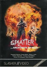 Splatter Architects Of Fear DVD Low Budget Horror Gore