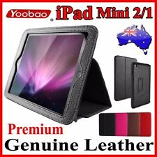Premium YOOBAO Genuine Leather Stand Case For iPad Mini 2/1 Executive Fold Cover