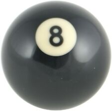 Pool Ball Gear Knob Fits Volkswagen VW T4 Transporter  - Black 8 Spot