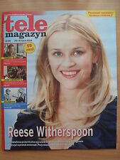 REESE WITHERSPOON on front cover TELE MAGAZYN 30/2014 in. Sophie Marceau