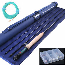 Fishing Nymph Fly Rod 3WT 10FT Cordura Tube Nymph Fly Line Nymph Flies Fly Kit